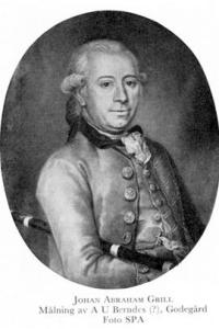 Johan Abraham Grill med flöjt