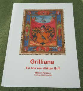 Bok om släkten Grill av Mårten Persson