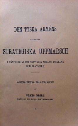 Den tyska armens strategiska uppmarsch